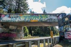 Overpass Graffiti 6 Royalty Free Stock Photography