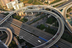 Overpass in guangzhou city Royalty Free Stock Images