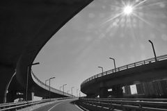 Overpass Royalty Free Stock Photo