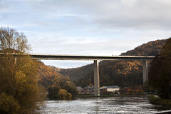 Overpass near Dinant Royalty Free Stock Photography