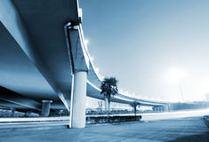 Overpass Night Stock Images