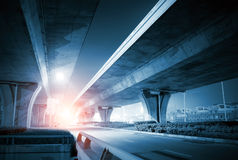 Overpass Night Royalty Free Stock Images