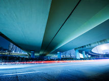 Overpass Night Royalty Free Stock Image