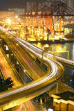 Overpass at night Royalty Free Stock Photography