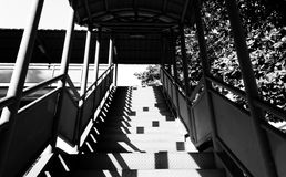 Overpass stairs Stock Photos