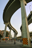 Overpasses in sky. Overpasses of urban road network in Chengdu,China Stock Images