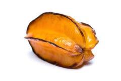 Overrijpe starfruit Stock Afbeelding