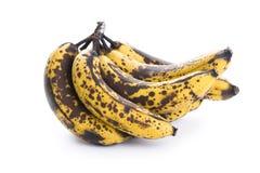Overripe banana bunch Royalty Free Stock Image