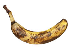 Overripe banana Stock Image