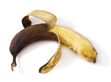 Overripe banana Stock Photos