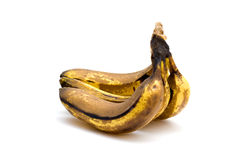 Overripe bananas Stock Images