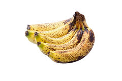 Overripe bananas Royalty Free Stock Images
