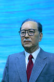 Overseas chinese leader tan kah kee. Wax figure of overseas chinese leader tan kah kee(chen jiageng stock photography