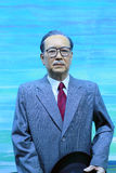 Overseas chinese leader tan kah kee. Wax figure of overseas chinese leader tan kah kee(chen jiageng stock photos