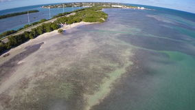 Overseas Highway Florida Keys aerial Stock Images