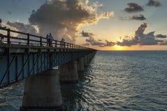 Overseas Highway Florida Royalty Free Stock Photo