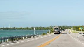Overseas Highway on Long Key, Florida Keys Royalty Free Stock Photography