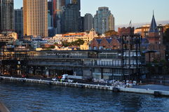 Overseas passenger terminal Sydney Harbour Royalty Free Stock Photography