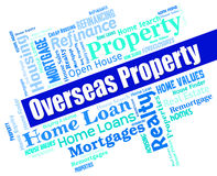Overseas Property Indicates Worldwide Apartments And Offices Royalty Free Stock Photo