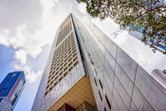 Overseas Union Bank Center OUB in One Raffles Place Singapore Royalty Free Stock Image