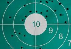 Overshoot target Royalty Free Stock Image