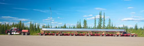 Oversize load Royalty Free Stock Photography