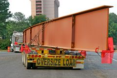 Oversize Load Royalty Free Stock Images