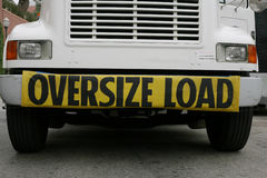 Oversize Load on Truck Royalty Free Stock Photo