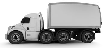 Oversized Cartoon Truck Royalty Free Stock Image