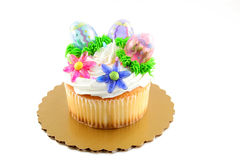 Oversized cupcake Stock Images