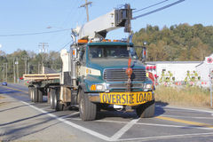 Oversized Load Royalty Free Stock Image