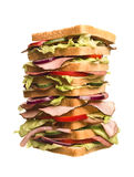 Oversized sandwich Royalty Free Stock Photo