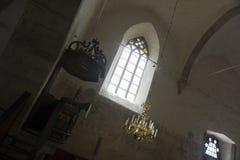 Overspannen kerkvenster Stock Fotografie