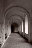 Overspannen passage Stock Foto's