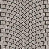 Overspannen textuur 075 van de keibestrating Stock Afbeelding