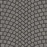 Overspannen textuur 080 van de keibestrating Royalty-vrije Stock Fotografie