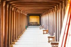 Overspannen zaal van Tintcitadel, Vietnam, Azië. Royalty-vrije Stock Fotografie