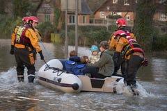 Overstromend - Yorkshire - Engeland Royalty-vrije Stock Afbeelding