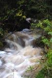 Overstromende stroom in de herfst Stock Fotografie