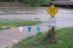 Overstroming Royalty-vrije Stock Fotografie