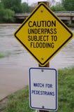Overstroming Royalty-vrije Stock Foto's