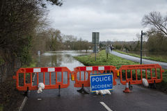 Overstroming Royalty-vrije Stock Foto