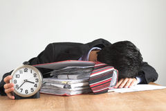 Overtime Stock Photo
