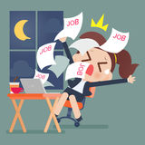 Overtime Stock Image