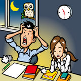 Overtime Stock Images