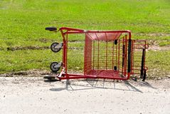 Overtruned Cart Stock Images