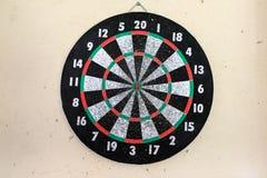 Overused Dartboard Royalty Free Stock Photo