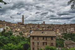 Overvieof Siena Royalty Free Stock Image