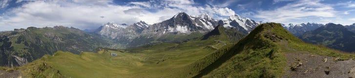 Overvieuw de montagne photographie stock