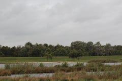 Overvieuw del paisaje por el lago Imagenes de archivo